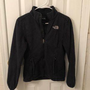 North face zipper up jacket